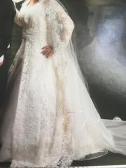 Brautkleid Romantik und