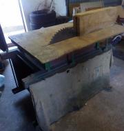 Brennholzsäge, Starkstrom, Tischkreissäge