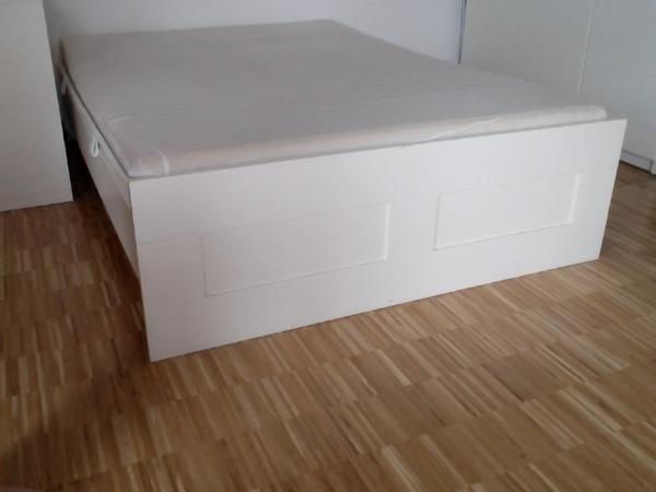 ikea bett ohne lattenrost hemnes ikea neu und gebraucht kaufen bei dhd bett ikea mandal mit. Black Bedroom Furniture Sets. Home Design Ideas