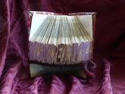 Buchfaltkunst Geschenkidee Wundervoll