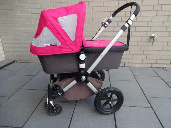 bugaboo cameleon in anthrazit pink top gepflegt in frechen kinderwagen kaufen und. Black Bedroom Furniture Sets. Home Design Ideas