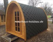 Campingpod, Schlafpod, Saunapod,