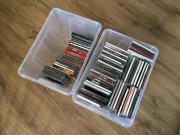 CD Sammlung mit