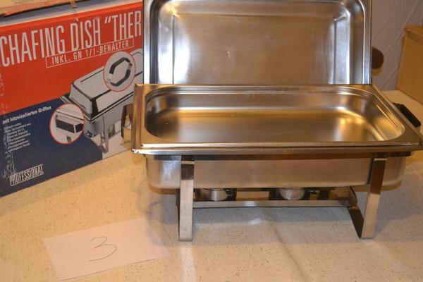 chafing dish kaufen gebraucht und g nstig. Black Bedroom Furniture Sets. Home Design Ideas