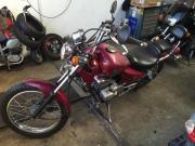 Chopper Motorrad 125