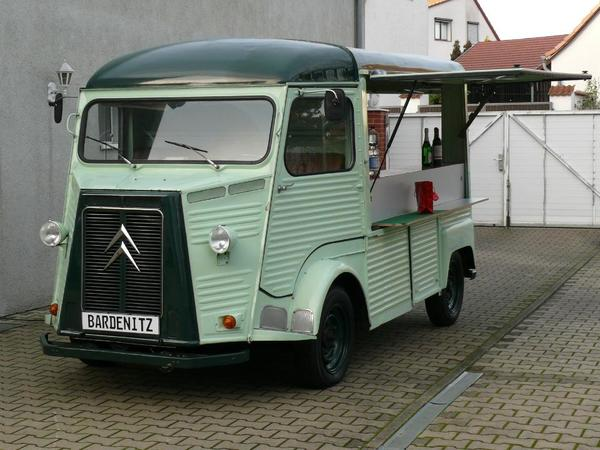 voiture citroen hy foodtruck verkaufswagen event oldtimer occasion de 1963 pour 28000. Black Bedroom Furniture Sets. Home Design Ideas