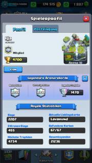 Clash Royale Account (