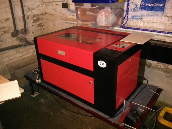 co2 laser 100w 400 x 600 mm in hamburg ger te maschinen kaufen und verkaufen ber private. Black Bedroom Furniture Sets. Home Design Ideas