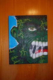 Collector Bild gemalt,