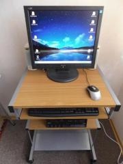 Computer-Arbeitsplatz Betriebsbereiten Computer-Arbeitsplatz, bestehend aus: Tisch, fahrbar mit ausziehbarer Tastaturablage, Desktop-PC IBM (Lenovo) ThinkCentre S50 (CPU ... 120,- D-12349Berlin Buckow Heute, 09:07 Uhr, Berlin Buckow - Computer-Arbeitsplatz Betriebsbereiten Computer-Arbeitsplatz, bestehend aus: Tisch, fahrbar mit ausziehbarer Tastaturablage, Desktop-PC IBM (Lenovo) ThinkCentre S50 (CPU