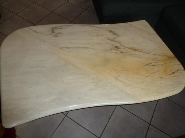 Couchtisch marmor kaufen gebraucht und g nstig for Marmor wohnzimmertisch