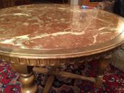 tisch rund marmor haushalt m bel gebraucht und neu. Black Bedroom Furniture Sets. Home Design Ideas