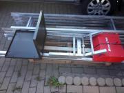 Dachdeckeraufzug Dachdeckerlift Möbellift