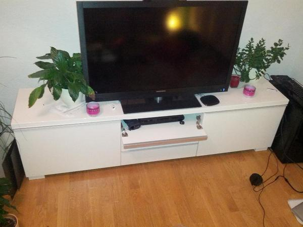 modernes hochwertiges design low board in hochglanz wei. Black Bedroom Furniture Sets. Home Design Ideas
