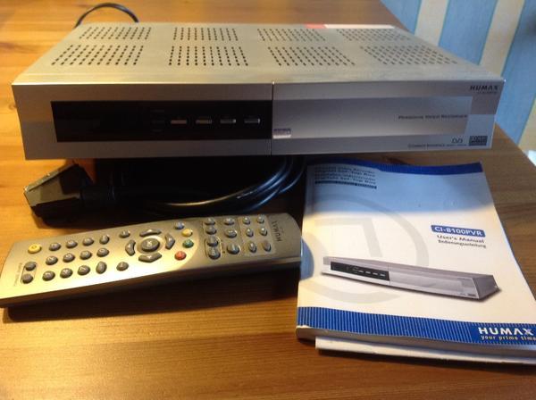 humax kabel digital kaufen gebraucht und g nstig. Black Bedroom Furniture Sets. Home Design Ideas