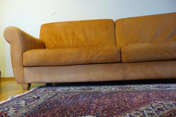 domicil nubuk bullen dickleder sofa boston xl 250cm hocker in geislingen polster sessel. Black Bedroom Furniture Sets. Home Design Ideas