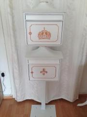 briefkasten shabby kaufen gebraucht und g nstig. Black Bedroom Furniture Sets. Home Design Ideas
