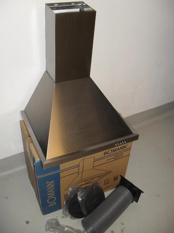 Dunstabzugshaube bomann du 611 ix in beerfelden spulen for Dunstabzugshaube bomann
