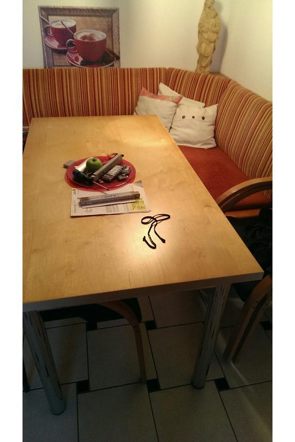 eckbank inkl st hle und esstisch. Black Bedroom Furniture Sets. Home Design Ideas