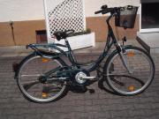 Ein Damenrad zum