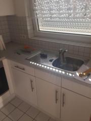 Einbauküche mit Cerankochfeld