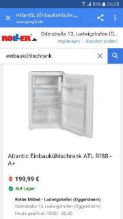 Einbaukühlschrank neu (Originalverpackt)