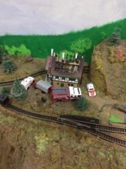 Eisenbahnplatte Spur N