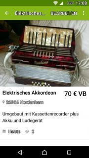 elektrisches Akkordeon
