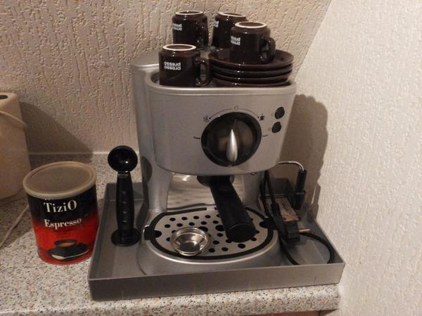 espresso maschine es2657 clatronic in bubenreuth kaffee. Black Bedroom Furniture Sets. Home Design Ideas
