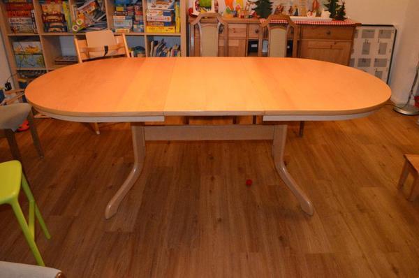 Oval esstisch neu und gebraucht kaufen bei for Esstisch gebraucht