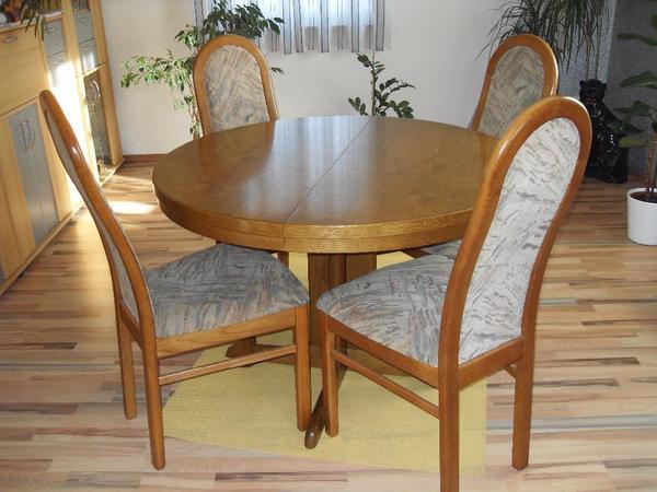 esstisch oval neu und gebraucht kaufen bei. Black Bedroom Furniture Sets. Home Design Ideas