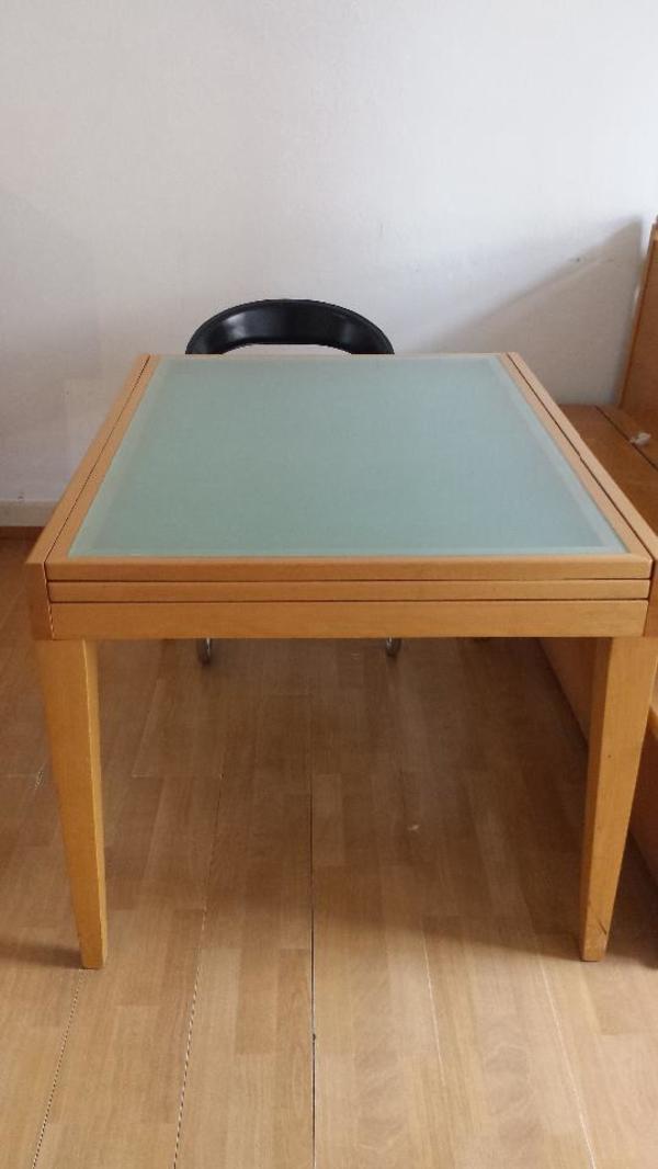 Tisch buchenholz neu und gebraucht kaufen bei for Schreibtisch aus buchenholz