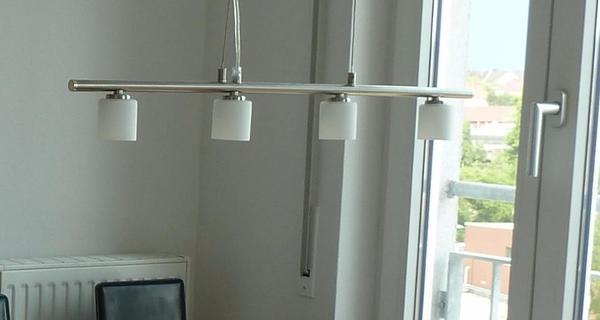 esstischlampe esstischleuchte halogen dimmbar in karlsruhe lampen kaufen und verkaufen ber. Black Bedroom Furniture Sets. Home Design Ideas