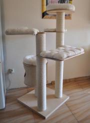 exklusiv gro e kratzbaum aus holz sehr starke in wroclaw zubeh r f r haustiere kaufen und. Black Bedroom Furniture Sets. Home Design Ideas