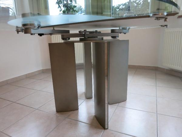 Esstische glas neu und gebraucht kaufen bei for Esstisch 90x120
