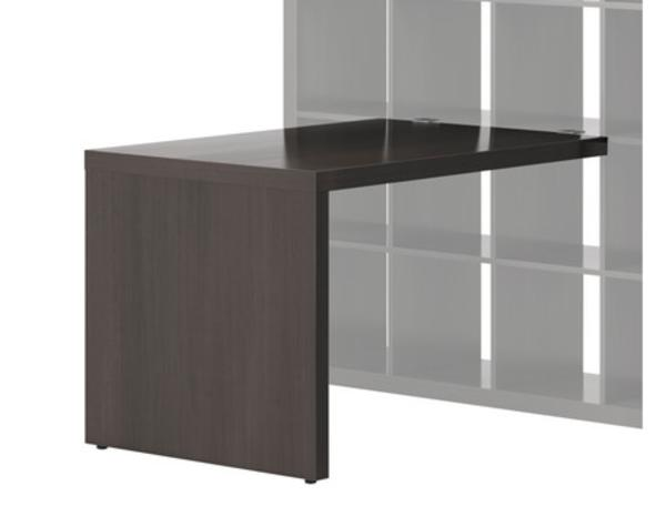 schreibtisch ikea schwarzbraun. Black Bedroom Furniture Sets. Home Design Ideas