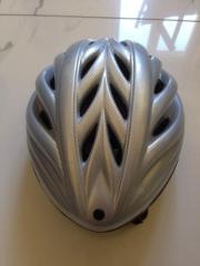 Fahrradhelm KED, silber