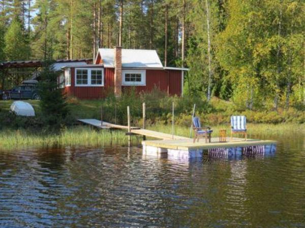 Ferienhaus in Schweden Värmland direkt am See zu