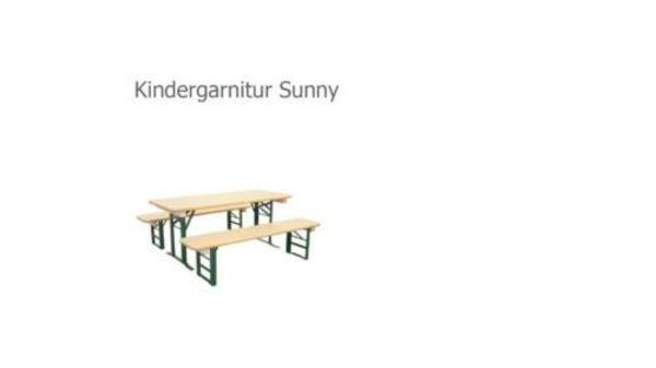 festzeltgarnitur f r kinder in brauereiqualit t. Black Bedroom Furniture Sets. Home Design Ideas