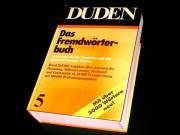 FREMDWÖRTERBUCH - DUDEN 5