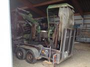 Friedhofsbagger Robo 350