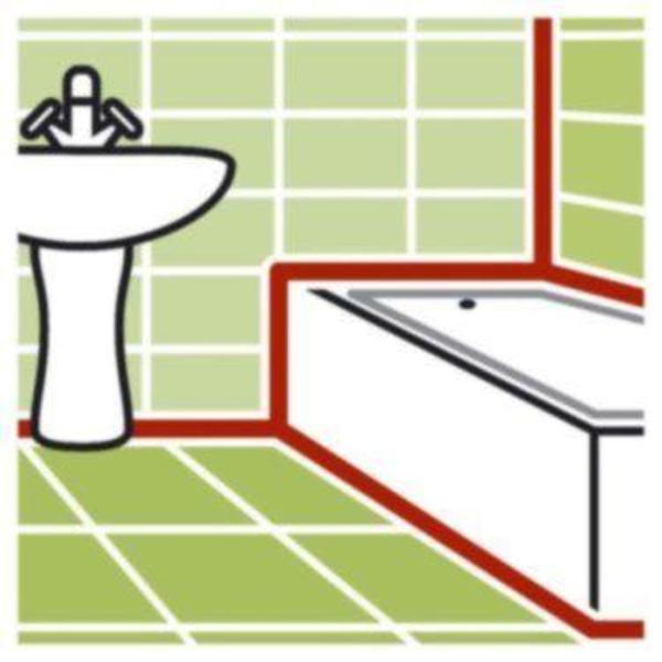 fugen silikon bad dusche kunststoffverfugung fugentechnik. Black Bedroom Furniture Sets. Home Design Ideas