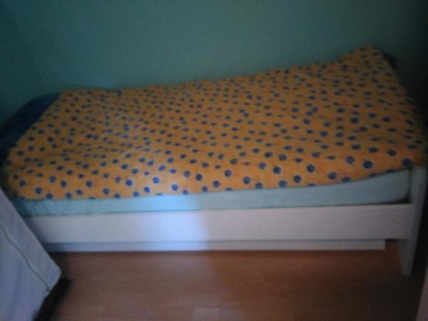 funktionsbett tandembett g stebett mit schubladen in neu isenburg betten kaufen und verkaufen. Black Bedroom Furniture Sets. Home Design Ideas