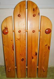 Echtholz garderobe nussbaum mehrteilig in steinheim for Echtholz garderobe