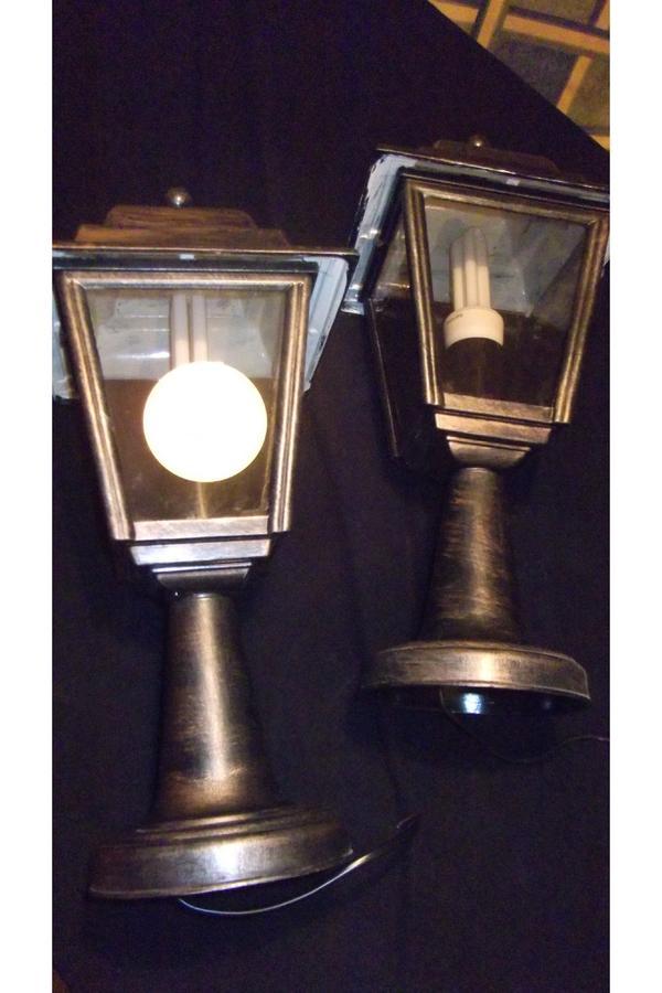 gartenlampen 2 in blieskastel sonstiges f r den garten balkon terrasse kaufen und. Black Bedroom Furniture Sets. Home Design Ideas