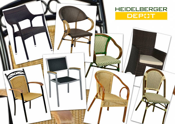 gebrauchte und neue outdoorm bel terrassenm bel terrassenst hle au enbestuhlung f r restaurants. Black Bedroom Furniture Sets. Home Design Ideas