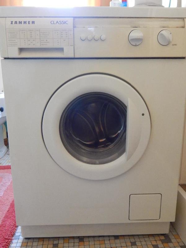 gebrauchte waschmaschine von zanker in barbelroth waschmaschinen kaufen und verkaufen ber. Black Bedroom Furniture Sets. Home Design Ideas