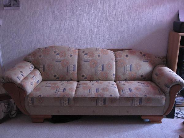 gem tliche couch mit leichten kratzspuren in berlin polster sessel couch kaufen und. Black Bedroom Furniture Sets. Home Design Ideas