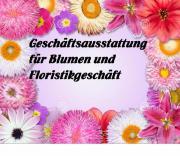 Geschäftsausstattung für Blumen