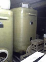 GFK Weinlagertanks